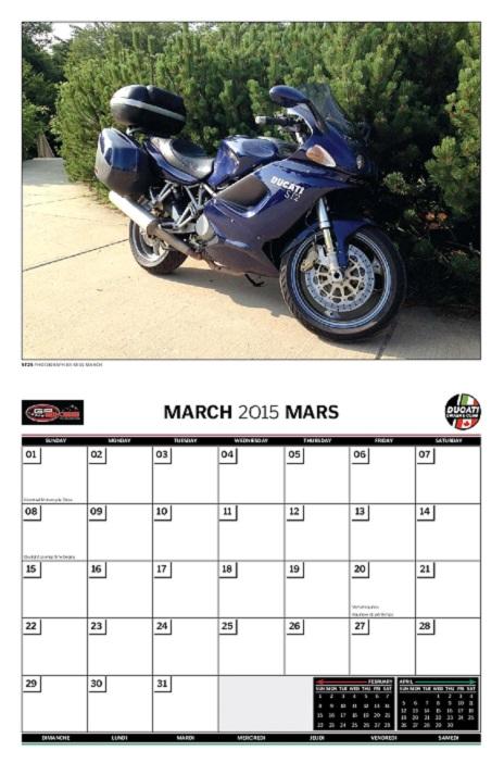 calendars 2016   ducati owners club of canada